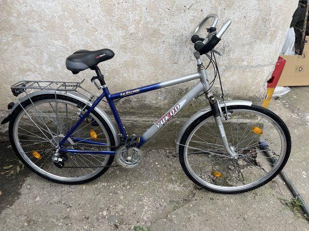 Bicicleta cadru aluminiu roti pe 28
