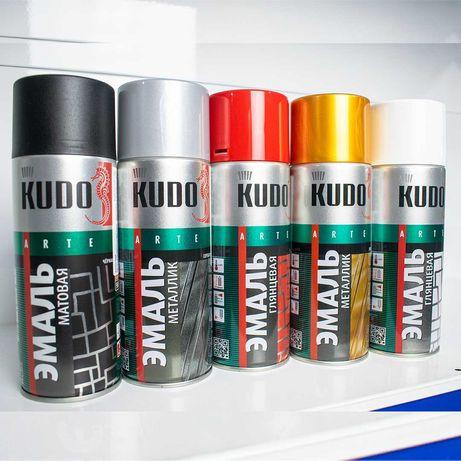 Аэрозольная краска KUDO, все цвета, доставка по Алматы