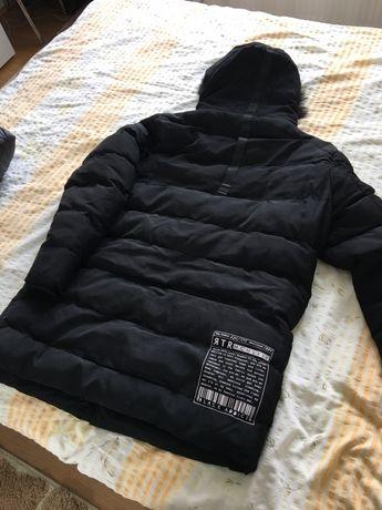 Palton Trusardi cu blana XXL
