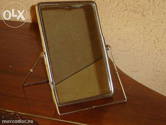 Vand una oglinda cristal dreptunghiulara135x60cm si 2 mici reglabile