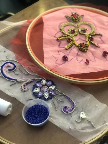 Курсы вышивания саукеле, камзолов