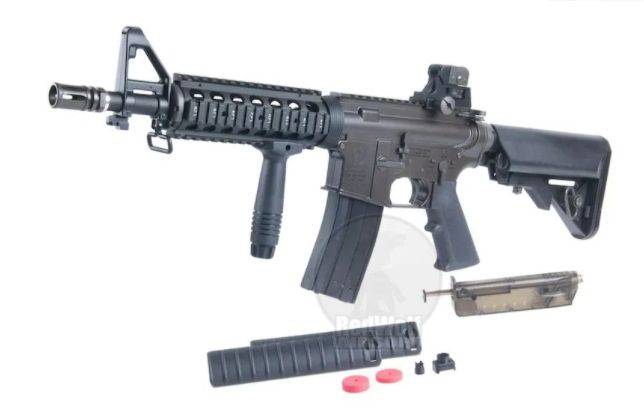 Pusca Airsoft Colt M4 MANUALA Upgrade + MUNITIE 1000 Bile + Cutie Arc