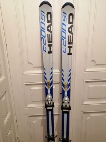 Skiuri Head noi 1,75 cu legaturi