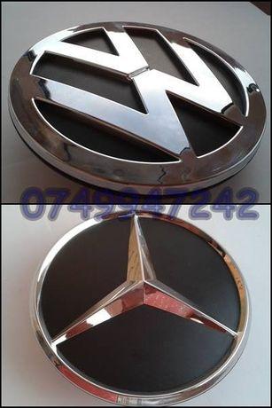 Emblema sigla spate Mercedes SPRINTER Volkswagen CRAFTER 120 mm