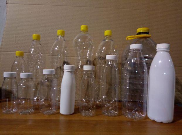 Пластиковые бутылки. ПЭТ. Тара. Баклажки. Упаковка. Кумыс. Молоко.Пиво