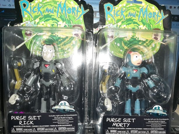 Figurine Rick and Morty