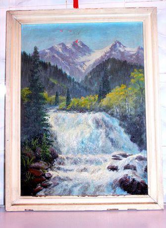 Картина водопад советская