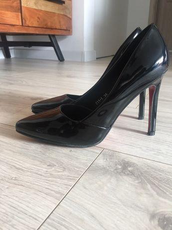 Pantofi stiletto negri nr 36