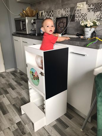 Learning tower Multifuncțional 3in1 PERSONALIZARE PROPRIE