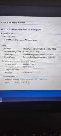 Asus F551M Intel N2840 2,16 GHz hdd 500gb RAM 4GB DDR3 CD/DVD HDMI