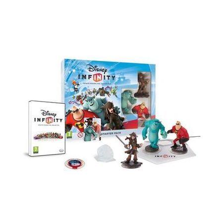 Disney Infinity Starter Pack Wii cu 8 figurine si 3 Power discuri
