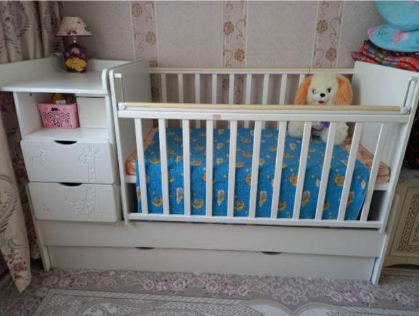 Детский кроват 3в1