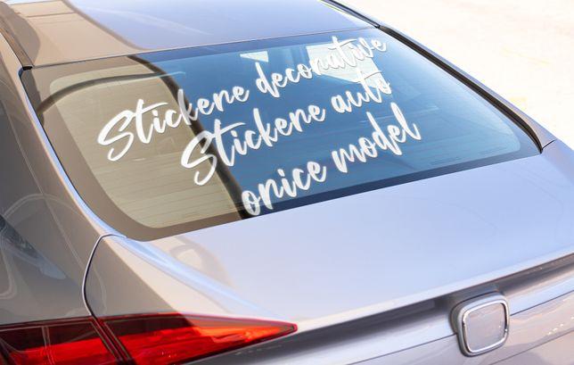 Stickere decorative / Sticker auto 1+1 CADOU