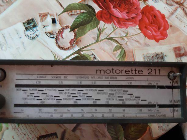Radio Akkord motorete 211 an 1969
