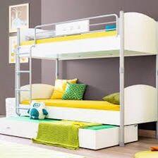 Двуярусная кровать с нишей Cilek