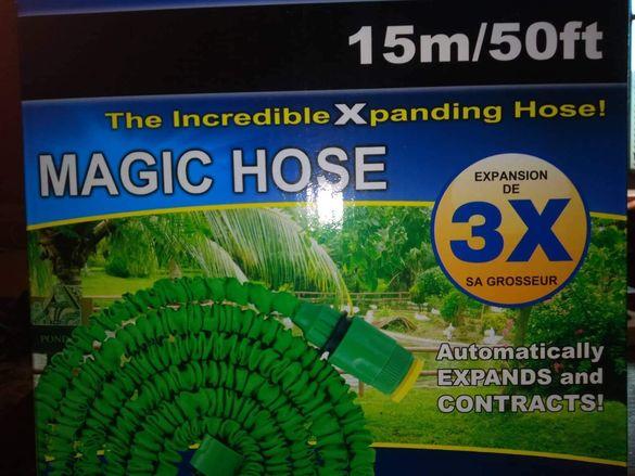 Разтегателни градински маркучи, Magic hose