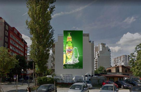 Фасадни Рекламни Съоръжения