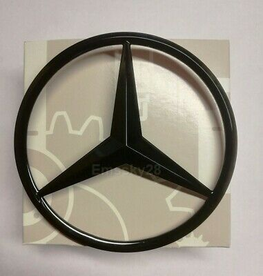 Черна емблема за багажник на Мерцедес