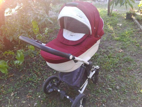 Бебешка количка 2в1 BEBETTO TITTO