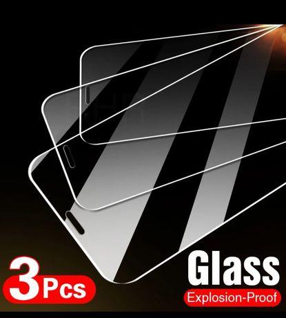 1 × Folie protecție sticla iPhone SE 2020