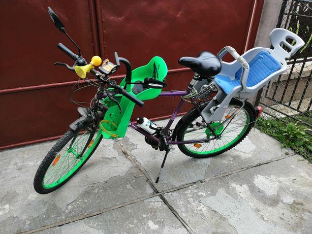 Bicicleta simano cu doua acaune pt copii
