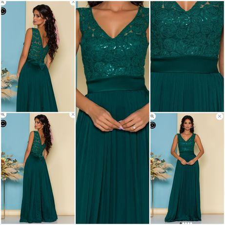 Rochie verde smarald