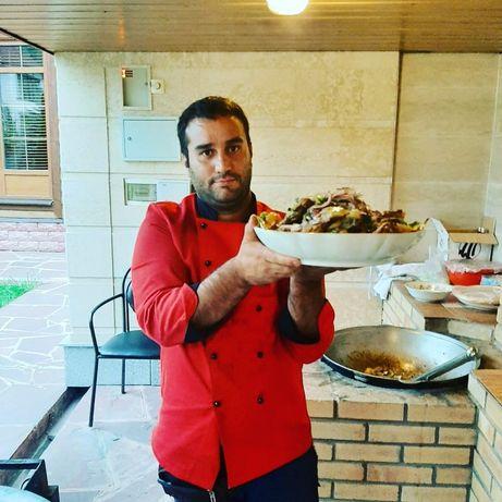 Повар на выезд в Алматы, азиатская кавказская кухня
