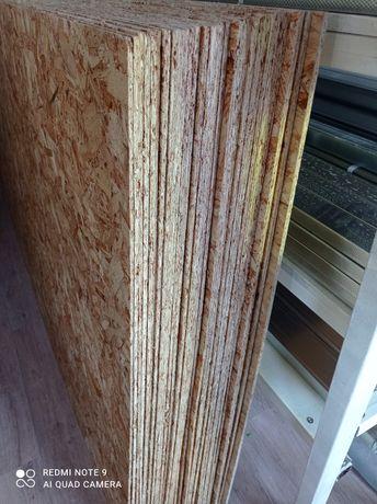 OSB лист, толщина от 6мм и выше, размерами 2,5х1,25м. Кроношпан