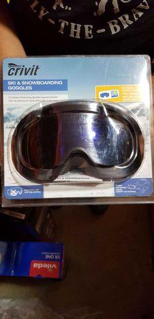 Ochelari Crivit pentru schi 100% Protecție UV Filtru optic Clasa 1 S2