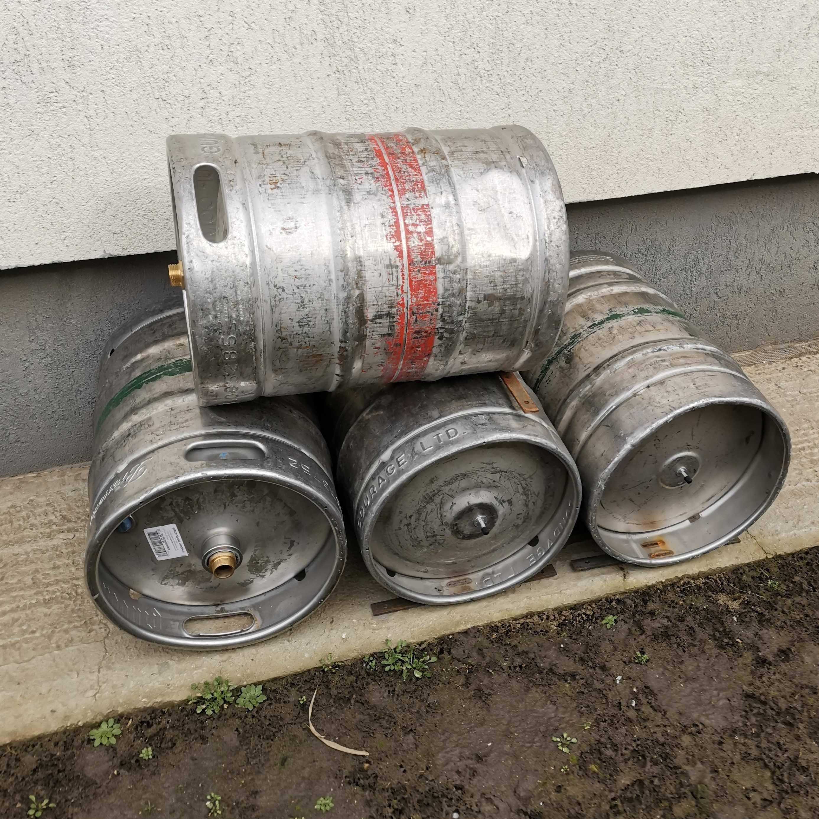 Butoaie bere inox 50 L pregatite pentru hidrofor