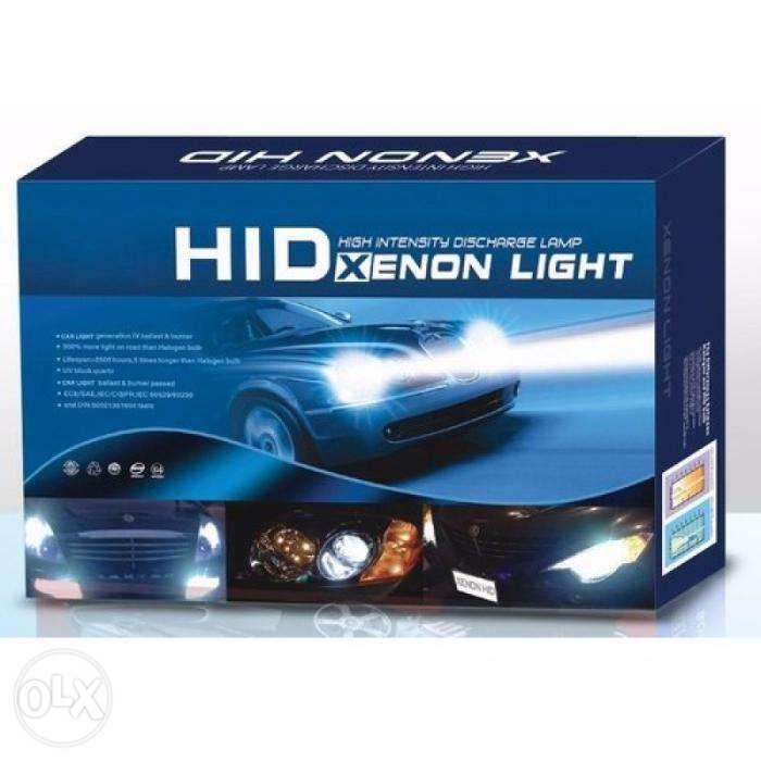 Kit Xenon Bixenon ECO+ 35W slim H1 H3 H7 H8 H11 HB3 HB4 9005 9006 Pitesti - imagine 1