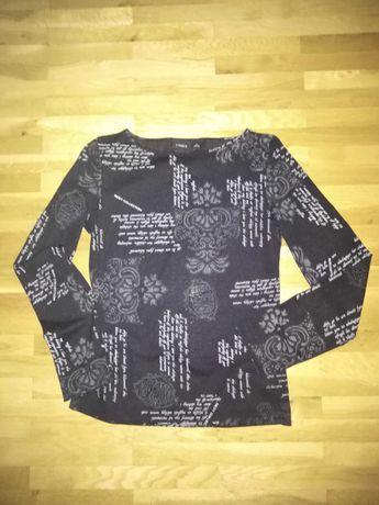Блуза с надписи