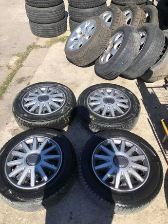 "Mетални джанти 15"" 4x114.3 с гуми  KIA; HYUNDAI"