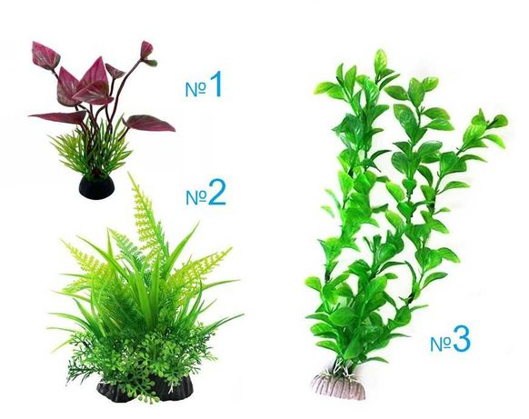 За аквариум с рибки:  Изкуствени растения декорация  водорасли