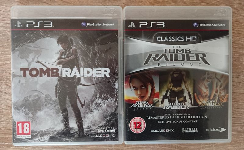 < PS3 > Tomb Raider Collection за PlayStation 3 гр. Казанлък - image 1