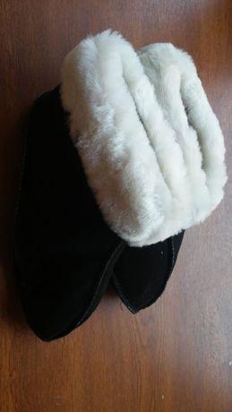 Продам тапочки меховые овчинка натуральная