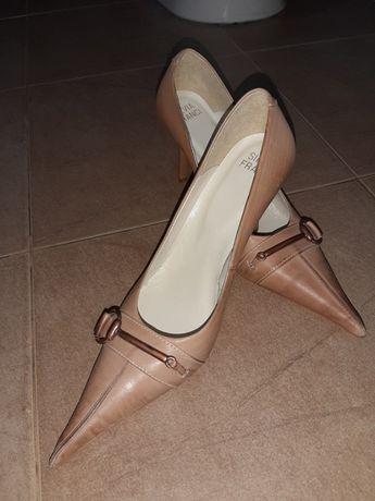 Обувки нови естествена кожа №37-Джиани Италия