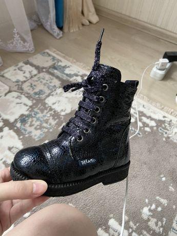 Зимние сапоги ботинки на девочку