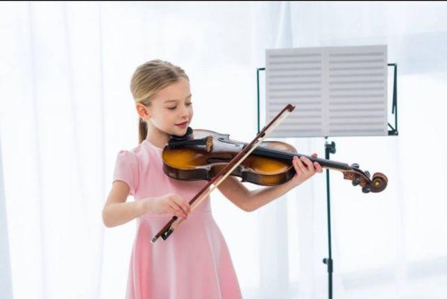 Обучаю игре на скрипке