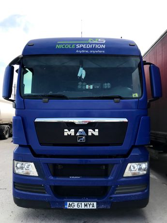 MAN TGX 2011 mega + Krone 2008