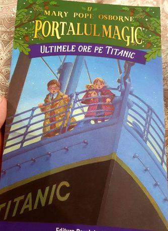"""De vânzare carte pentru copii.""""Ultimele ore pe titanic""""."""