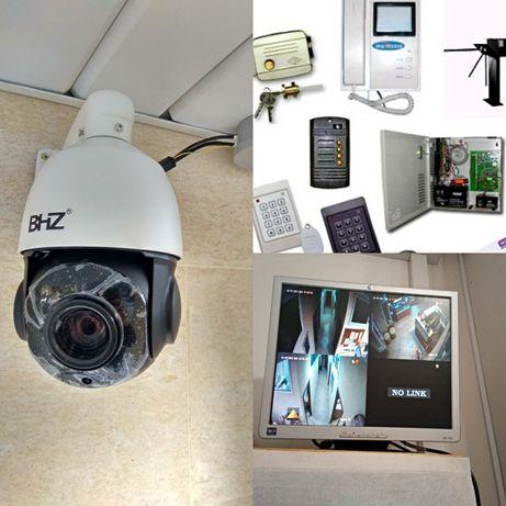 Видеонаблюдения установка Алматы камеранаблюдение пожарная сигнализаци
