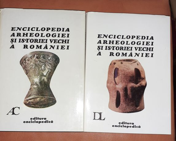 Enciclopedia arheologiei si istoriei vechi a Romaniei