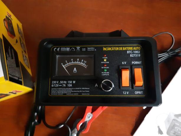 Dispozitiv NOU incarcareredresare baterii 6V si 12V max100Ah Nefolosit