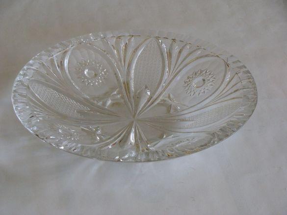 Кристални купи чаши гравирани
