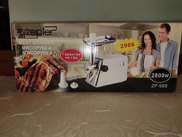 Продам Мясорубка от Zepter