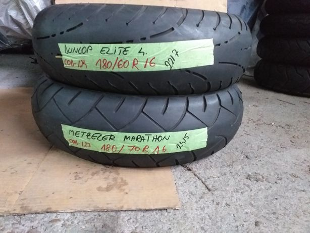 Anvelope 180/60R16 Dunlop elite4 180/70R16 Metzeler marathon