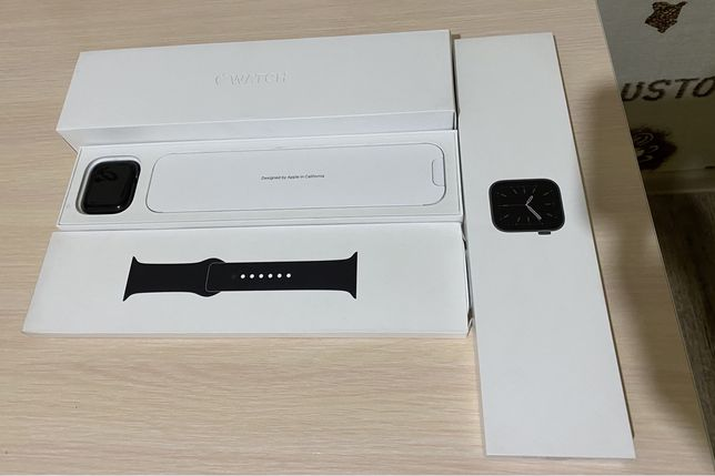 Новые Apple Watch 6 44mm Space Gray