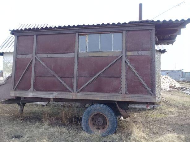 Продам жилой вагончик на колёсах в хорошем состоянии