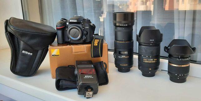 Nikon D7200 cu 3 obiective